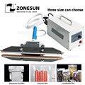 ZONESUN 200mm Direkt wärme Zange tragbare impuls sealer plastiktüte abdichtung maschine geeignet für aluminium vakuum verbund film