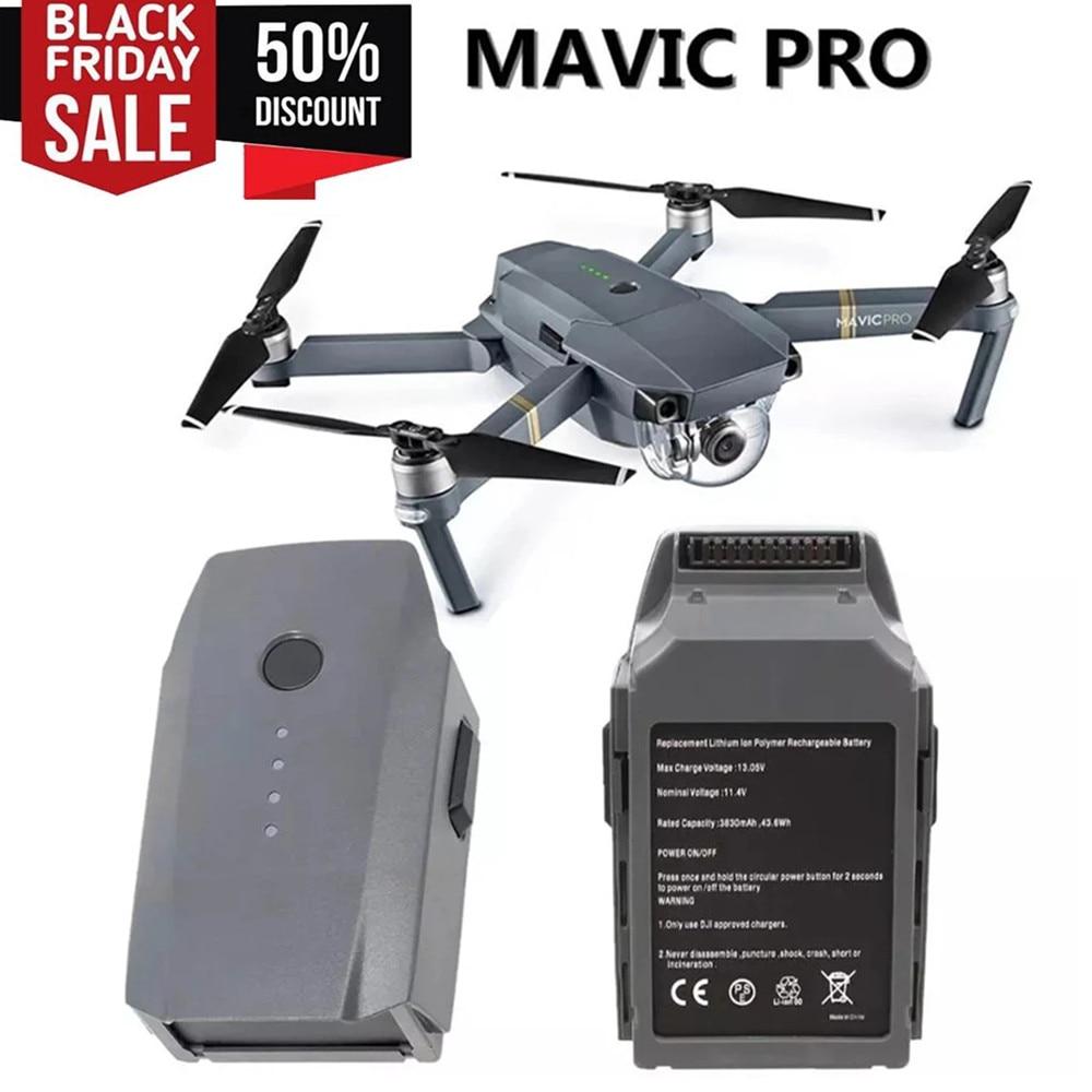 Интеллектуальный Полетный аккумулятор DJI Mavic Pro (3830 мАч/11,4 в) специально разработан для продажи дрона Mavic
