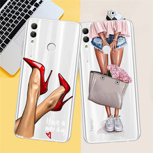 Girl Woman For huawei Y5 Y6 II Prime Nova 2 3 4 3i Plus 2018 2017 phone case Cover Coque Etui funda etui capinha capa luxury