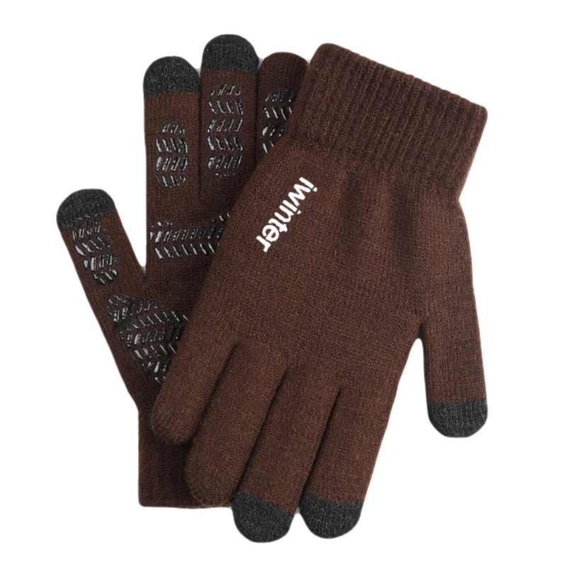 Touch-screen Full Finger Gloves Autumn Winter Warming Male//Female Outdoor Sport