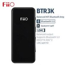 FiiO nowy marka BTR3K HiFi Bluetooth 5.0 sportowy odbiornik/wzmacniacz słuchawkowy z AK4377A2 DAC