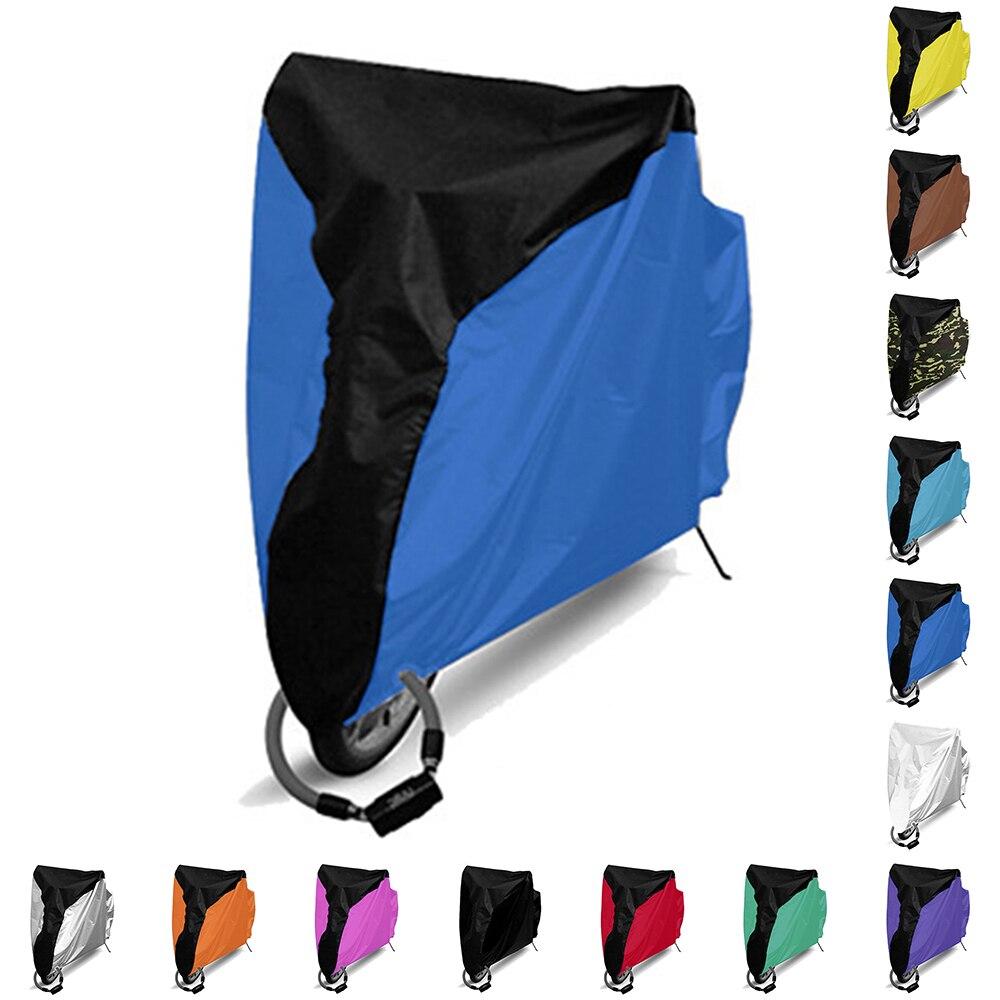 Cubierta impermeable de la lluvia de la bicicleta cubierta de la bicicleta protección UV para la bicicleta Utility ciclismo cubierta de la lluvia al aire libre 4 tamaños S/M/L/XL