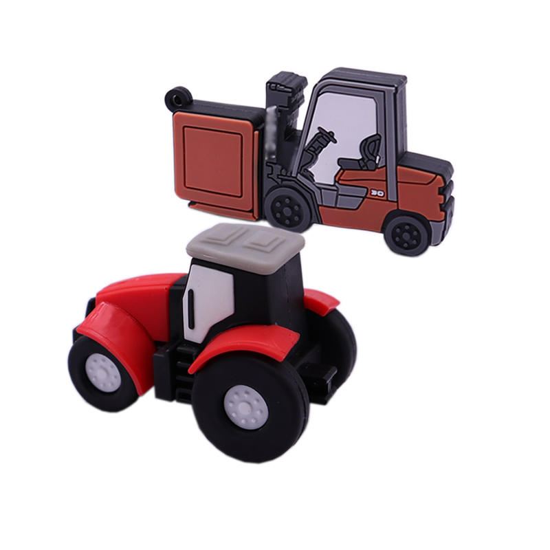 USB Stick New Tractor Pen Drive 128gb Cute Mini Usb Flash Drive 4gb 8gb 16gb 32gb 64gb Memoria Usb Stick Creative Gifts Pendrive