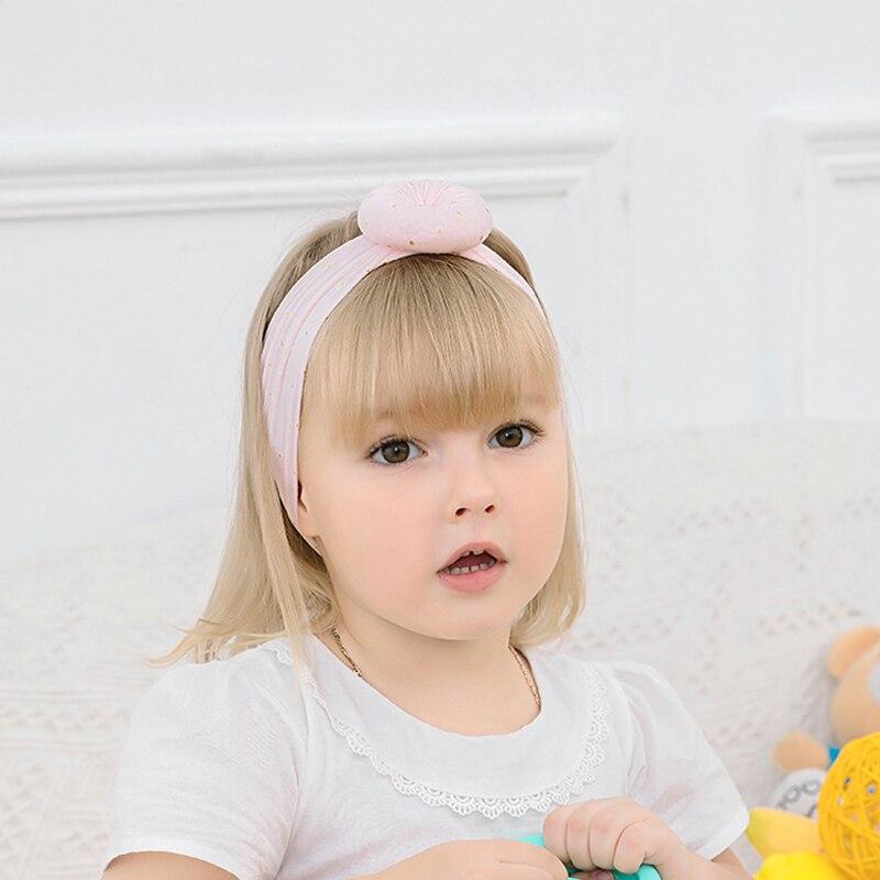 Pour Bébé Filles Enfants Lapin Bow Knot Turban Serre-Tête Cheveux bande Bandeau