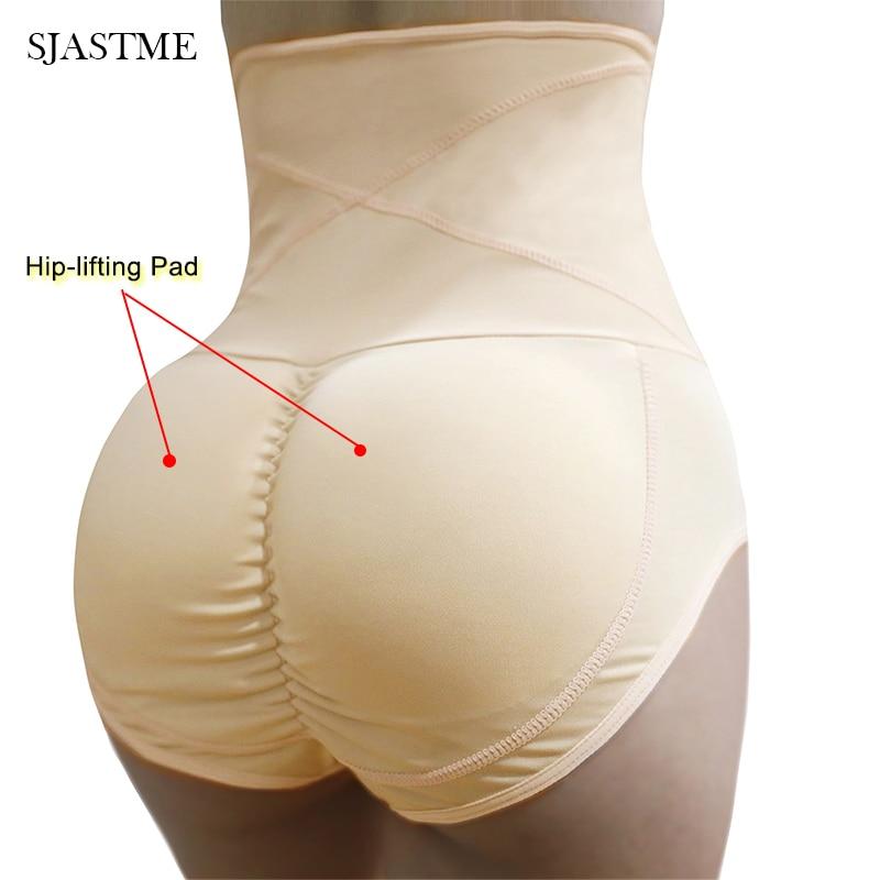 Women Padded Butt Lifter Bum Hip Enhancer Body Shaper Underwear Fake Ass Panties