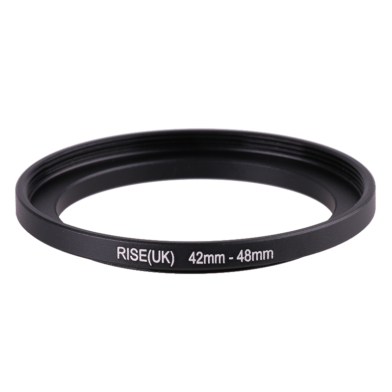 RISE(UK) 42mm-48mm 42-48 Mm 42 To 48 Step Up Filter Ring Adapter