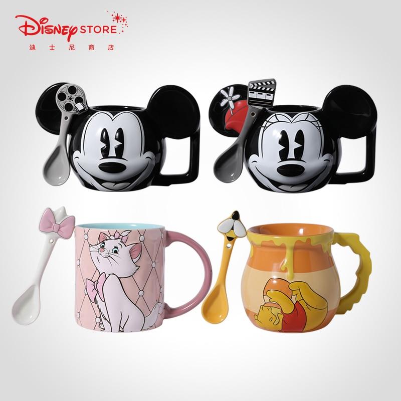 Disney, gobelet en céramique pour enfants, gobelet en 3d, dessin animé, bouteille de bébé d'eau douce, café, lait, Boutique cadeau, 2020
