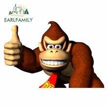 EARLFAMILY – autocollant «Donkey Kong» pour borne d'arcade, 13cm x 8.6cm, pour voiture, pour chambre d'enfant, pour Snowboard, décoration de VAN Windows