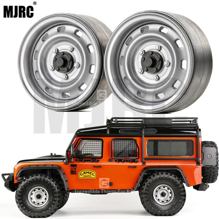 4pcs Metal 1.9inch Wheel Hub Beadlock Rim For 1/10 RC Crawler Car TRX4 Bronco RC4WD D90 D110 Axial SCX10 90046 JIMNY CFX VS4(China)