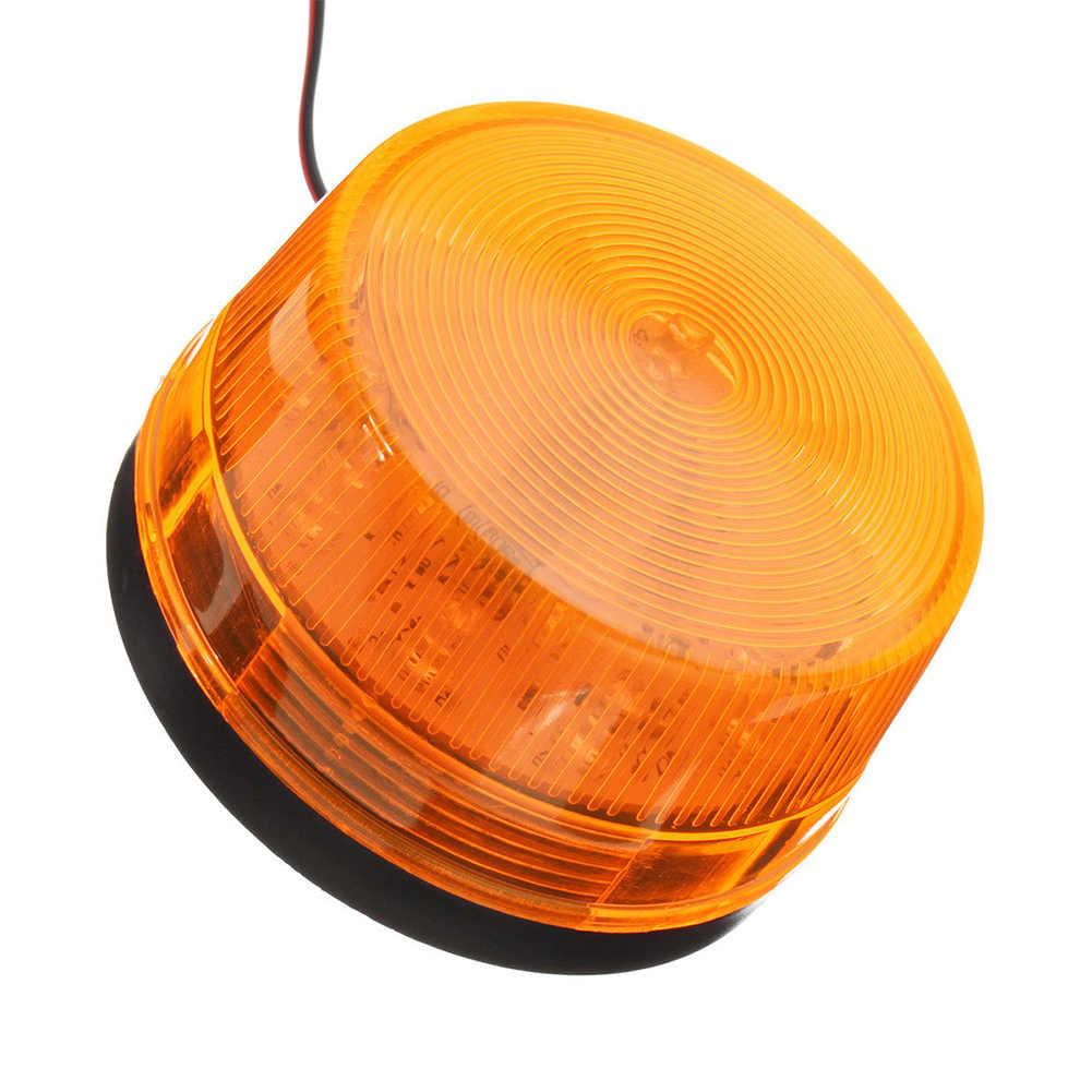 15LED автомобиль грузовик предупреждающий мерцающий свет проблесковый маячок аварийная сигнальная лампа Янтарный