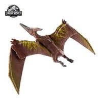 Jurassic World-dinosaurios de juguete con textura auténtica, Pteranodon, articulaciones móviles crecidas, dinosaurios, juguetes para niños, GJN68