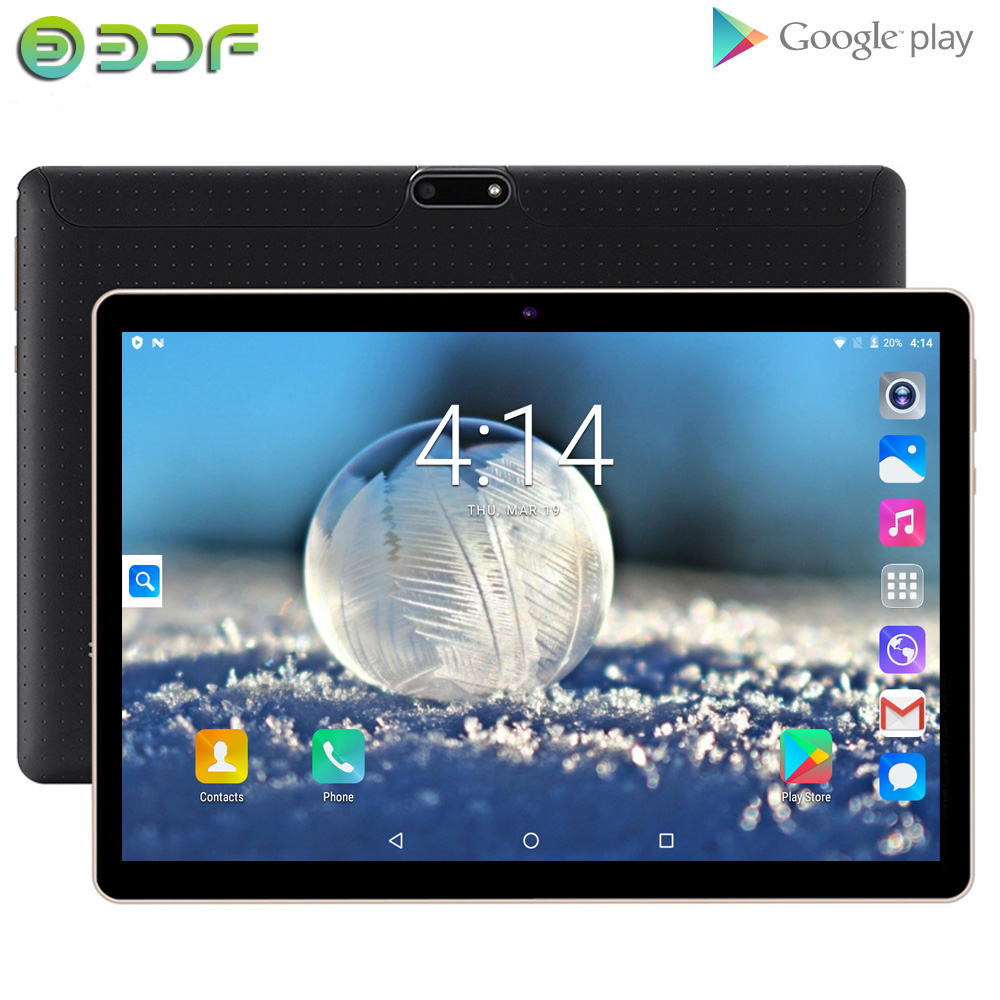New Original 10 Inch Tablet Pc 3G Phone Call Quad Core Google Market GPS WiFi FM Bluetooth 10.1 Tablets 2G+32G Android 6.0 Tab