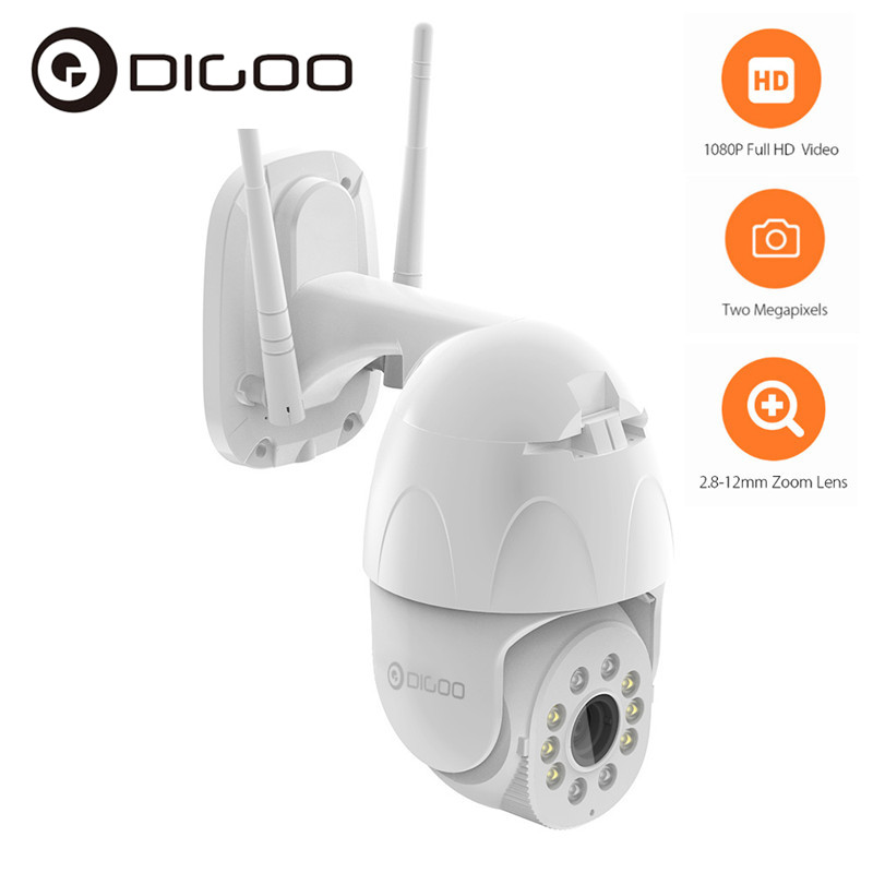<font><b>1080P</b></font> PTZ <font><b>WiFi</b></font> <font><b>IP</b></font> Camera Outdoor 4X Optical Zoom AI Human Detect Wireless Camera H.265 P2P <font><b>ONVIF</b></font> Night Vision Security Monitor image