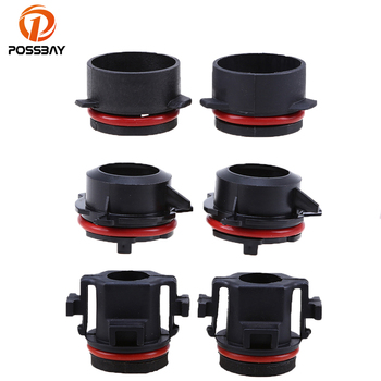 POSSBAY H7/D2S Xenon HID Bulb Adapter Holder Socket for BMW 318i/E46/E65/E90 LED Headlight Holder Adapters for BMW E46 3 Series image
