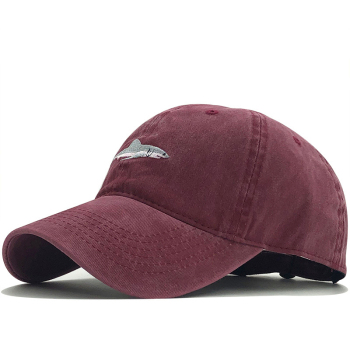 which in shower stitched shark snapback man cap baseball hip hop embroidery curved strapback dad hat summer fish sun - discount item  40% OFF Hats & Caps