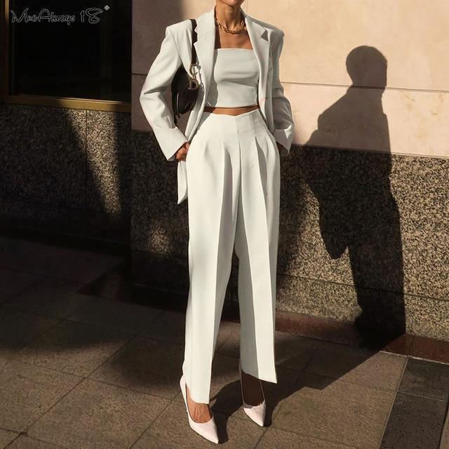 Elegant Office Trousers  1