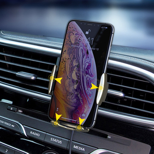 Image 4 - Capteur intelligent voiture support de téléphone charge rapide chargeurs sans fil support de voiture universel pour iPhone pour Huawei AI charge sans fil