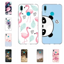 For Huawei Y5 2019 Y6 2018 Y7 2019 Case TPU For Huawei Mate 20 lite Maimang 7 Cover Panda Pattern For Huawei Y5 II Honor 5 Funda цена и фото