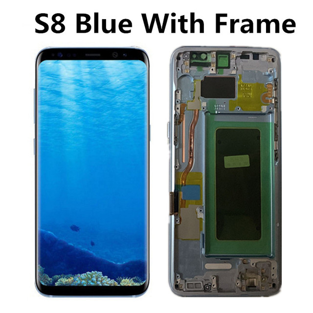 S8 Blue With Frame