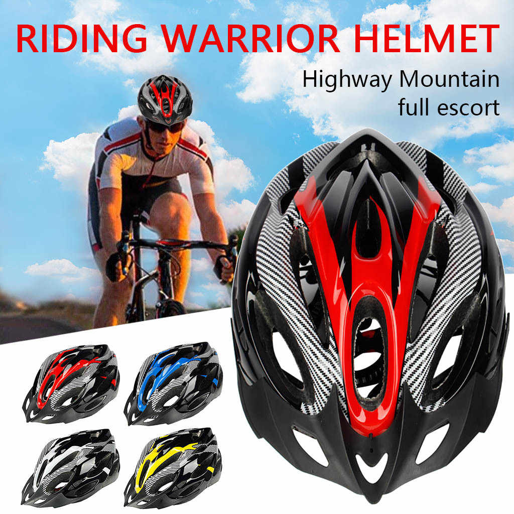 Unisex Road Mountain Bicycle Helmet Bike Cycling Safety Helmet Outdoor Sport