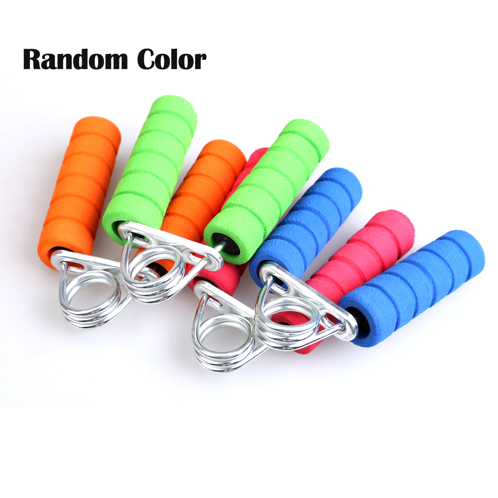 Hand Wrist Arm Strength Exercise Gym Power Fitness Grip Wrist Forearm Strength Training Hand Grip Color Randomly