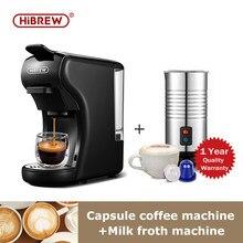 HiBREW – Machine à café expresso 3 en 1, entièrement automatique, avec mousseur de lait chaud et froid