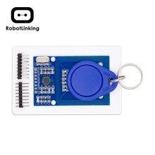 MFRC-522 RC-522 RC522 13,56 МГц/125 кГц RFID модуль для arduino комплект SPI писатель ридер IC карта с IC картой с программным обеспечением UNO