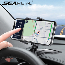 Universal Car Phone Holder Interior Mobile Phone Support Dashboard Stand Rearview Mirror 360 Degree Rotation Gadget Accessories