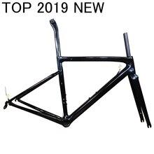 T1000 Marco de carbono ligero superior para bicicleta, bicicleta de carreras, disco de llanta en V, conjunto de freno taiwan XDB DPD ship