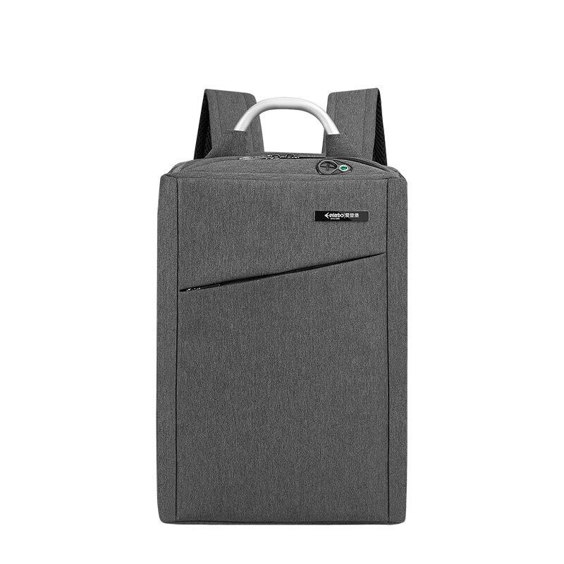 2020 New Fashion Laptop Backpack Slim Man Waterproof Anti Theft Travel Mens Business Gray Nylon Back Pack Backbag Backpack