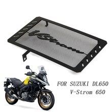Para suzuki dl650 V STROM dl 650 vstrom dr650s 2013 2019 grade de radiador guarda protetor de aço inoxidável capa motor bicicleta
