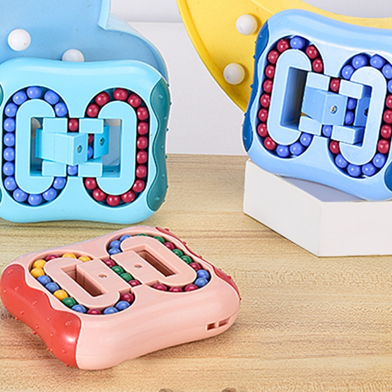 Fingertip-Toy Educational-Toys Magic-Bean Kids Stress-Relief Rotating Creative for Children's img4