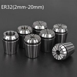 Image 1 - 2mm 20mm ER32 Spannzange Werkzeug Bits Halter Frühling Collet für CNC Gravur Maschine Fräsen Drehmaschine Werkzeug spindel motor clamp