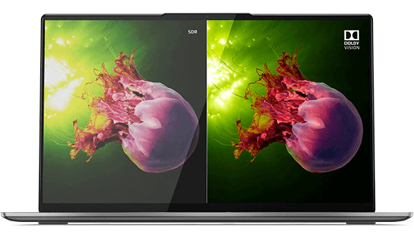 High-end Lenovo Laptop Yoga S940 14 Inch 4K UHD Anti-glare 3D Glass Screen i7-1065G7 16GB Ram 1TB SSD Type-C  ThunderBolt 3.0