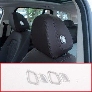 Декоративные накладки на подголовник автомобиля из АБС-пластика, для BMW X3 X4 G01G02 3 серии G20 G28 325li, автомобильные аксессуары