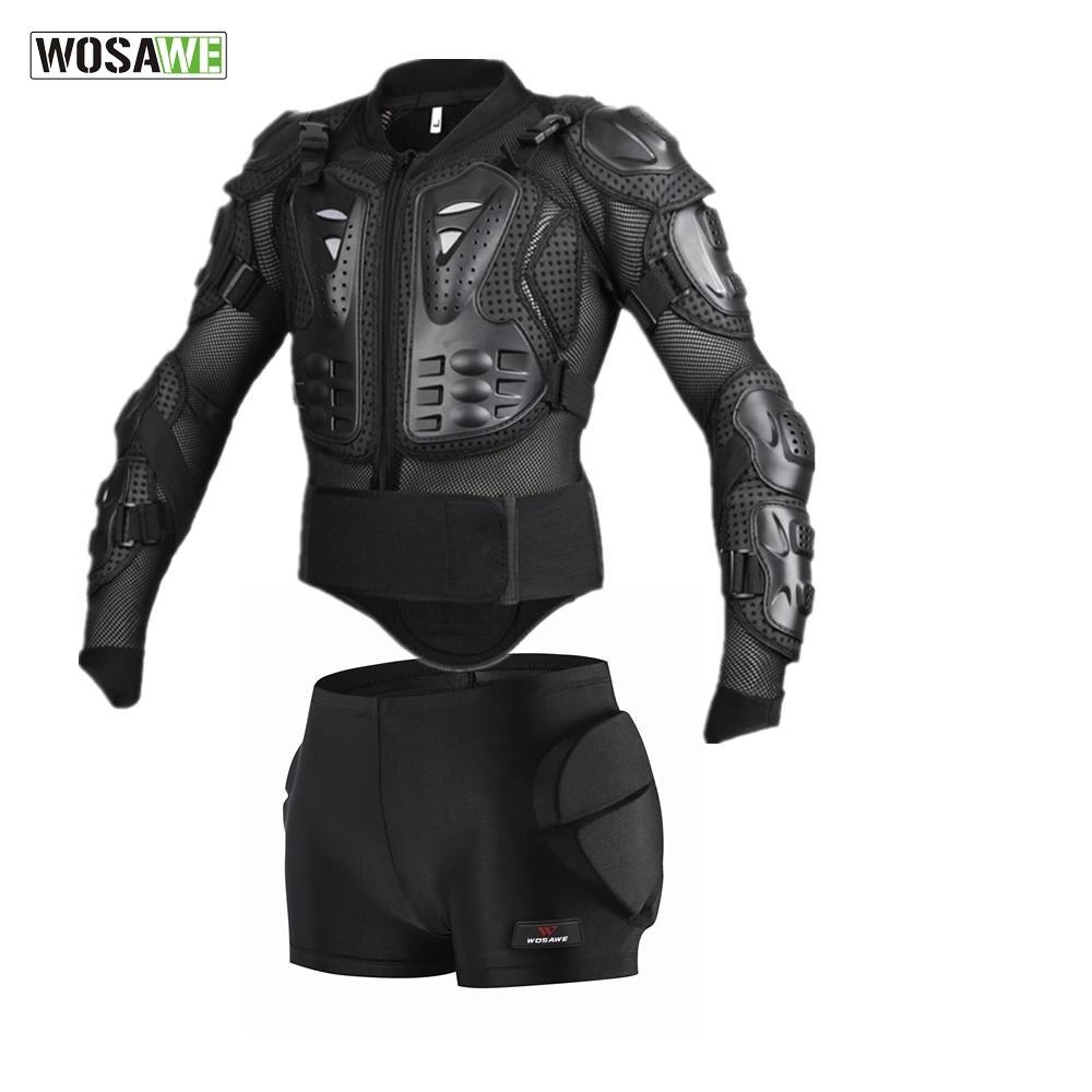 WOSAWE спортивные куртки для сноуборда, мужские сетчатые рукава, ветровка для езды на мотоцикле, Защита спины, защитное снаряжение, защита от л...