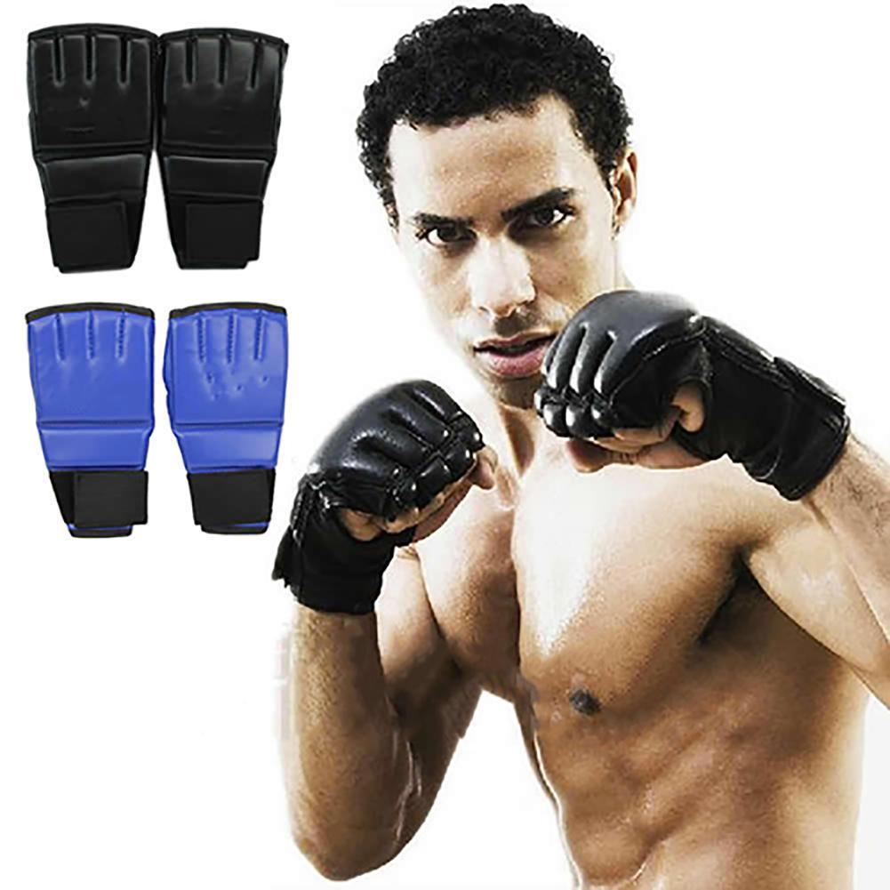 Men's Fashion Gym Sanda Training Punching Sparring Half Mitts Boxing Gloves Training Punching Sparring Boxing Gloves Women Boxer