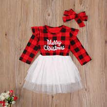 Emmababy одежда для маленьких девочек рождественское платье