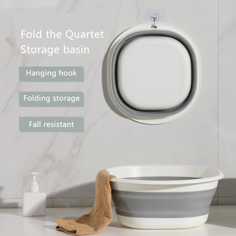 Portable Basin Wash Basin Hair Washing Basin Foldable Basin Folding Foot Bath Basin Camping Accesorios Bathroom Accesories