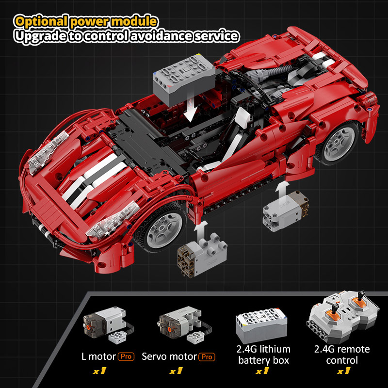 Cada C61049W CITY Compatible Technical RC Car