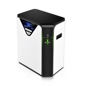 Image 1 - in stock oxygen generator 1 6L/min Adjustable Portabl Oxygen Concentrator atomization Machine Generator Air Purifier Home AC220V