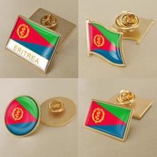 Герб Эритреи, карта Эритреи, флаг, Национальная эмблема, брошь значки нагрудные знаки