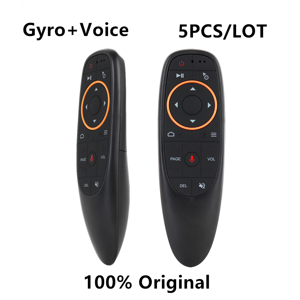 Wholesale Price l8star <font><b>G10S</b></font> Air mouse with Gyro Google Voice Search microphone smart remote control for android smart tv box image