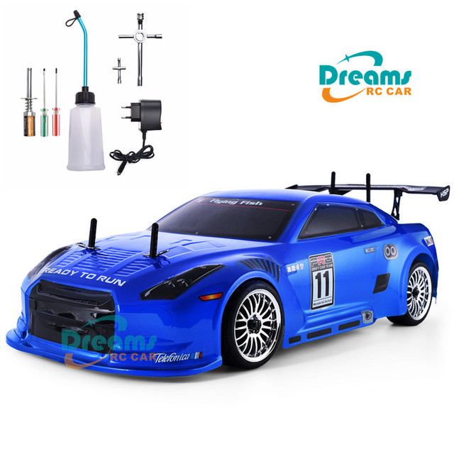 HSP RC Car 4wd 1:10 On Road Racing Two Speed Drift Vehicle Toys 4x4 Nitro Gas Power High Speed Hobby Remote Control Car 1