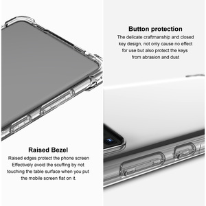 Image 5 - IMAK Full Protect Crystal Case for Samsung S21 5G 2021 Back Case Samsung Galaxy S21 Ultra S 21 Plus Phone Cover Coque Shockproof
