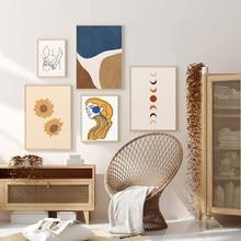 Affiche de tourmaline abstraite, style Boho, Sexy, Peinture Sur Toile, Art mural, Image Pour Salon, décoration