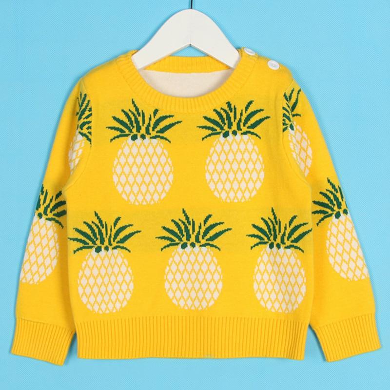 1-6Yrs New 2020 Boy Girl Long Sleeve Loving Heart Knitted Sweater Autumn Winter Boys Girls Sweaters For Baby Girls Kids Sweater 14