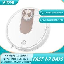 VIOMI SE – aspirateur Robot, collecteur de poussière d'animaux de tapis, planification intelligente WIFI, télécommande via application Mijia, sauvegarde de 5 cartes et 7 programmes