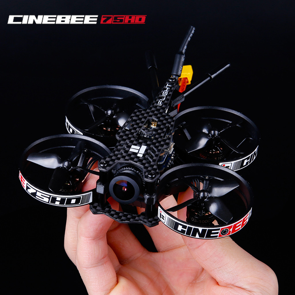 2019 New Year Gifts toys for children boy toy iFlight CineBee 75HD Indoor FPV Racing <font><b>Drone</b></font> Mini Quadcopter 75mm Whoop toy image