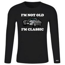 Im Not Old Im classique American Muscle Car chevaux chemise hommes 2020 marque vêtements t-shirts haut décontracté T-Shirt homme garçon 1380K